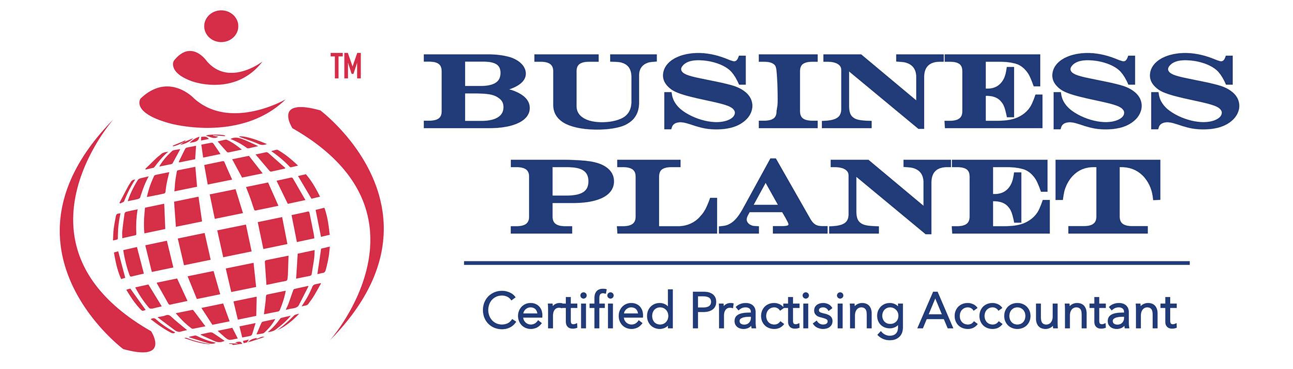 Business Planet Logo
